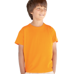 T-shirt Fruit Kid, Orange 128 cl