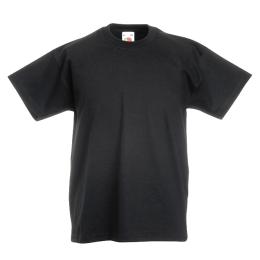 T-shirt Fruit Kid, Svart 128 cl