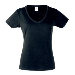 T-shirt Value V-neck T Lady, Fruit