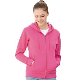 Hooded Sweat Jacket Lady fit, Fruit