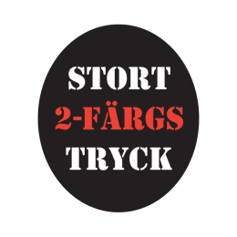 BB. Stort 2-färgstryck, College etc.