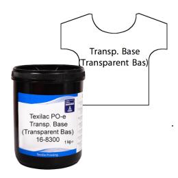 Texilac Po-E, Transparent, ca 1 kg