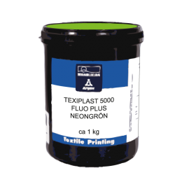 Texiplast Fluo Plus Verde, ca 1 kg
