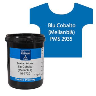 Texilac Airtex, Blu Cobalto (Mellanblå) ca 1 kg