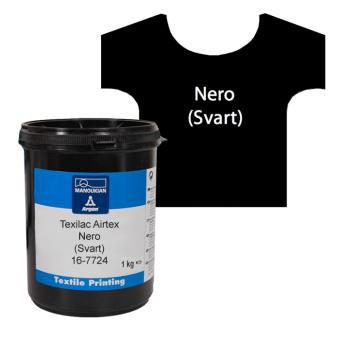 Texilac Airtex, Nero (Svart) ca 1 kg