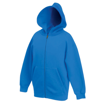 Hooded Sweat-Jacket 62-045 Kids
