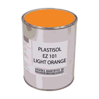 Plastisol EZ101 Light Orange, 1 kg