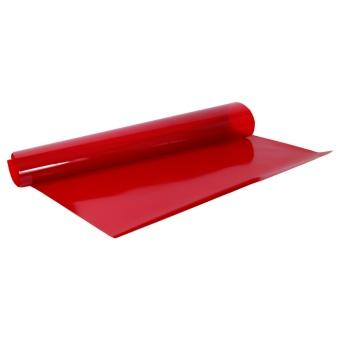 Röd Maskfilm UV-opaque, ark 50x60 cm