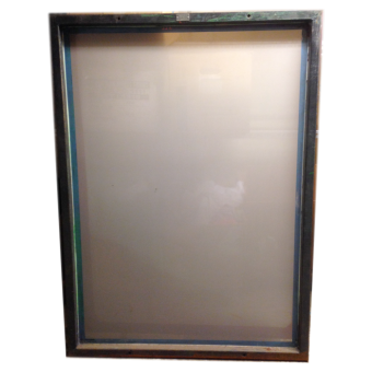 Screenram Stål 99x139 cm duk 77