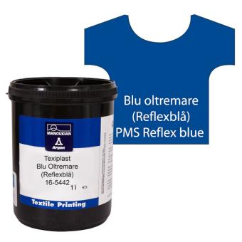 Texiplast 5000 Blu oltremare (Reflexblå) ca 1 lit