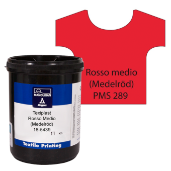 Texiplast 5000 Rosso medio (Medelröd) ca 1 lit