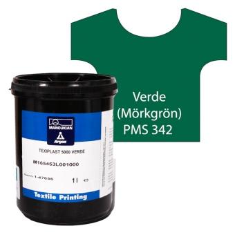 Texiplast 5000 Verde (Mörkgrön) ca 1 lit