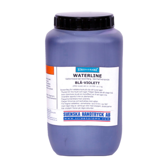Waterline, Blå-violett, ca 1 kg