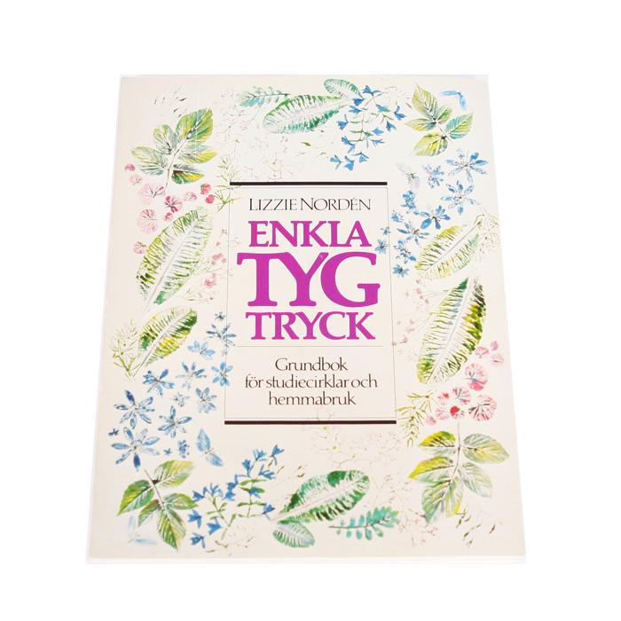 Bok Enkla Tygtryck