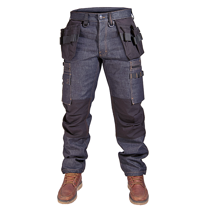 Midjebyxa P12 denim, Dunderdon