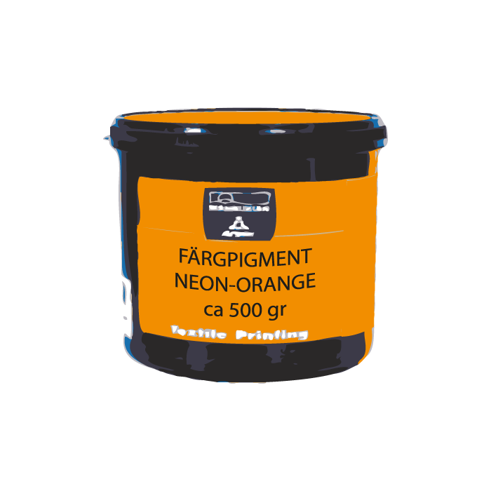 Färgpigment Neon-Orange ca 500 gr