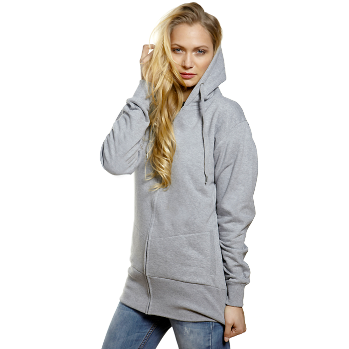 Hoodie Zip Ladies, Label Free