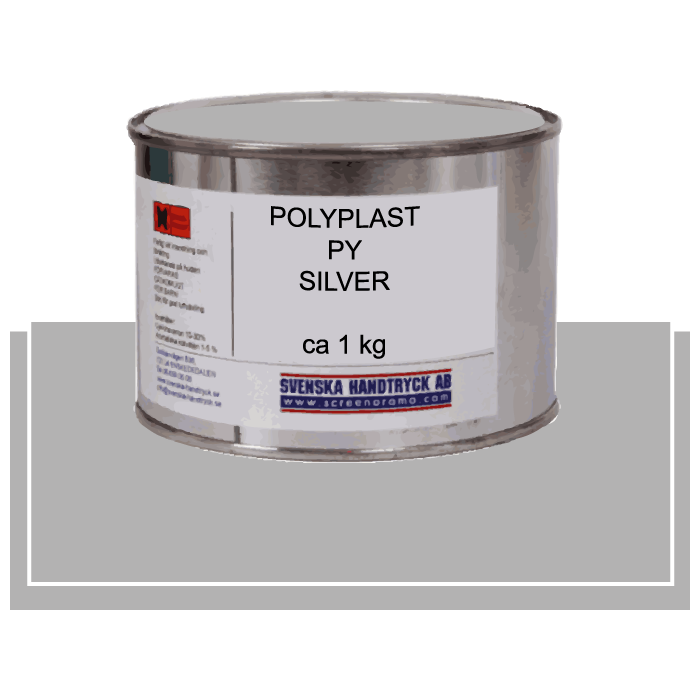 Polyplast PY Silver, ca 1 kg