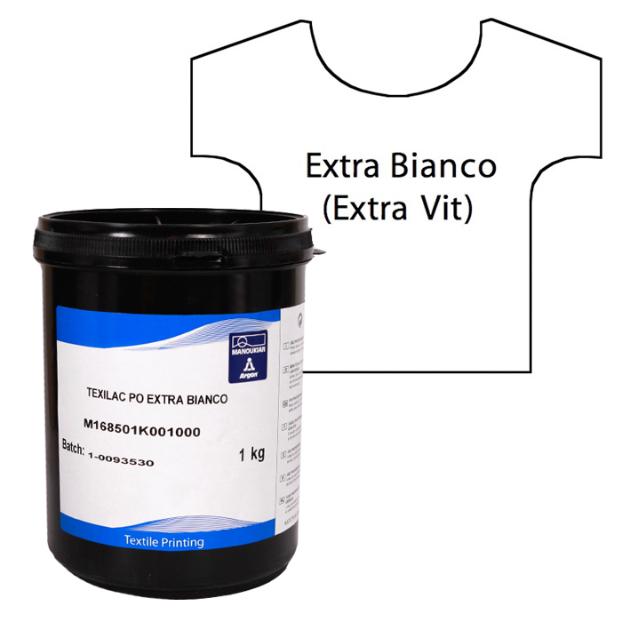 Textilfärg Extra Vit ca 1 kg