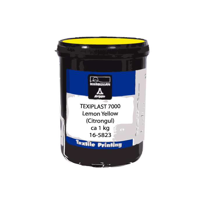 1 kg Texiplast 7000 Lemon Yellow (Citrongul)