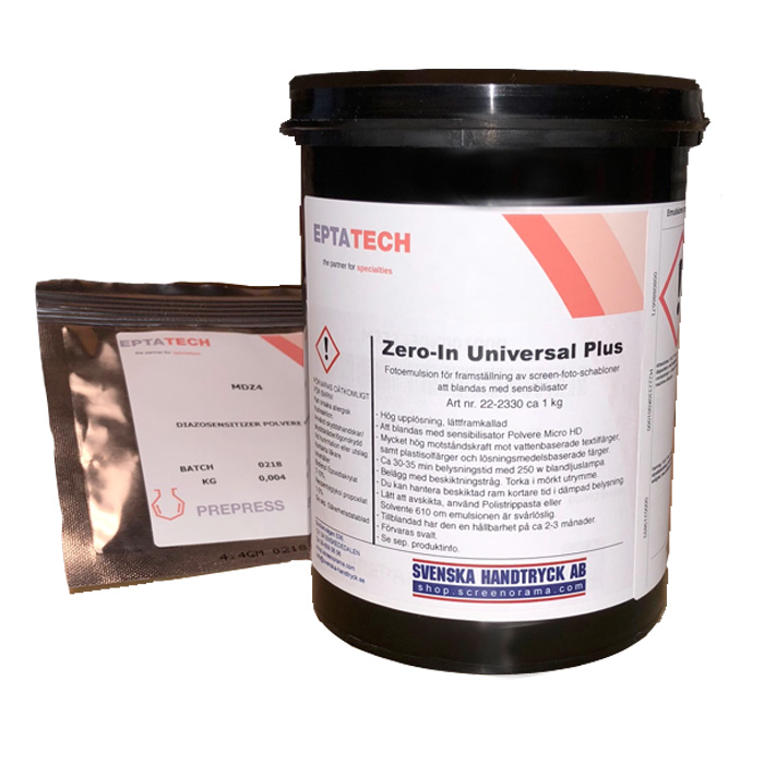Fotoemulsion Zero-In Universal Plus ca 1 kg