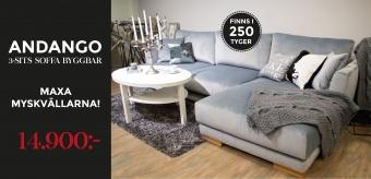 Andango 3-sits soffa
