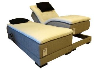 DUTTI Silk ställbar säng 2 st 90x210