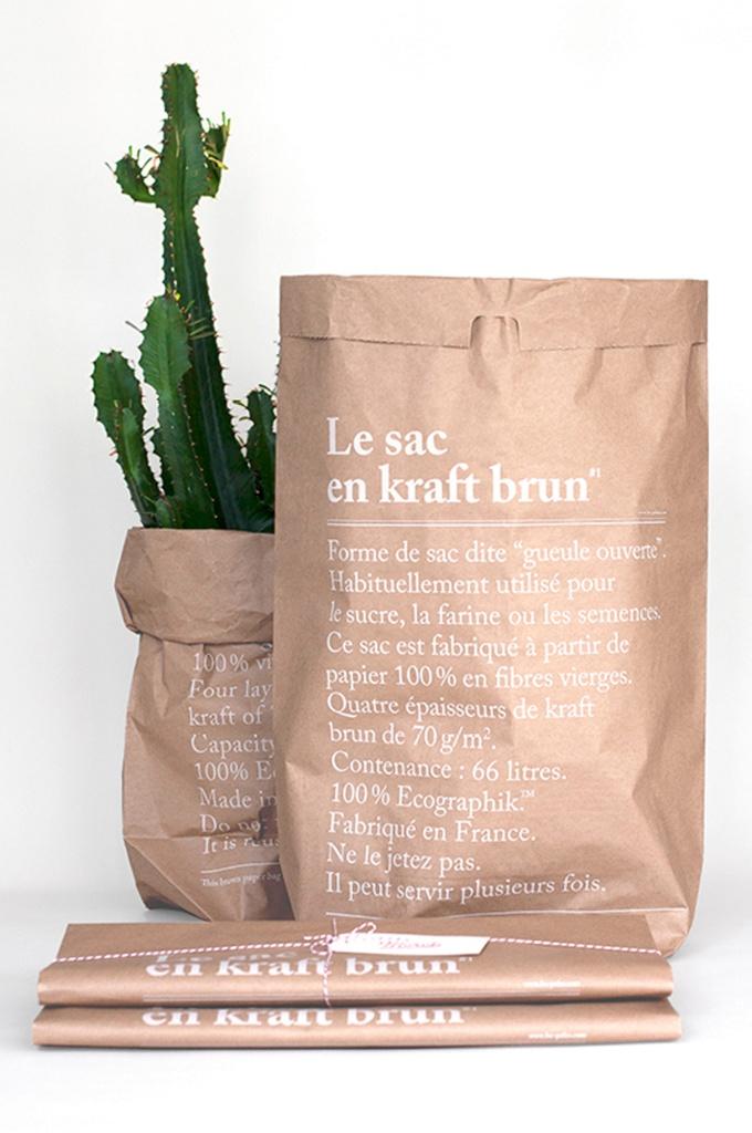 Papperspåse Le Sac - Brun