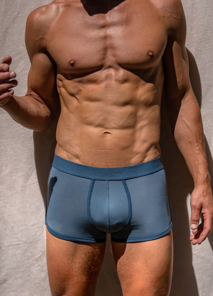 Boxer Briefs - Dusty Blue