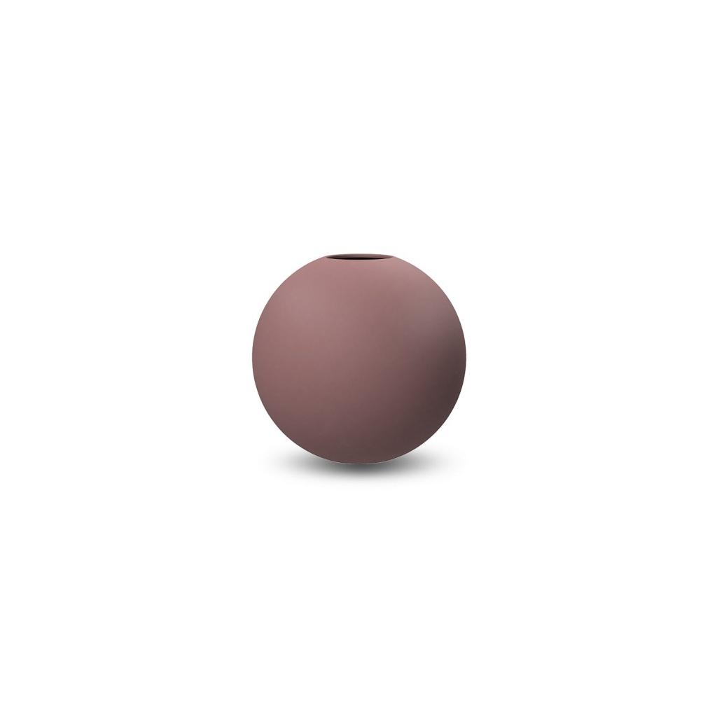 Ball Vase 8 cm - Cinder Rose