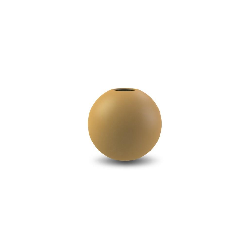 Ball Vase 8 cm - Ochre