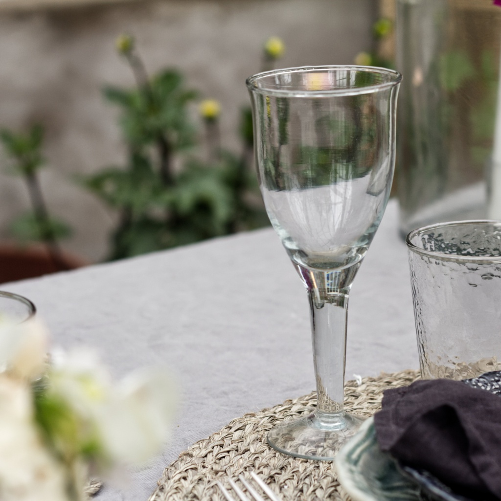 Galette Wine Glass High - Clear
