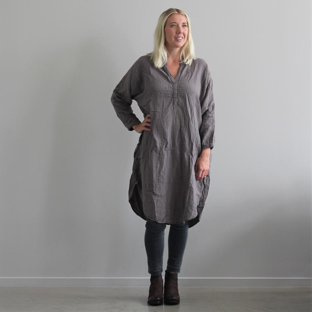 Agnita oversize dress - Grey