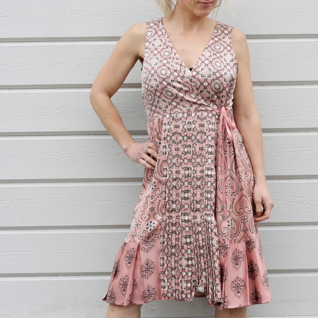 Funky Belle Dress - Pink Powder