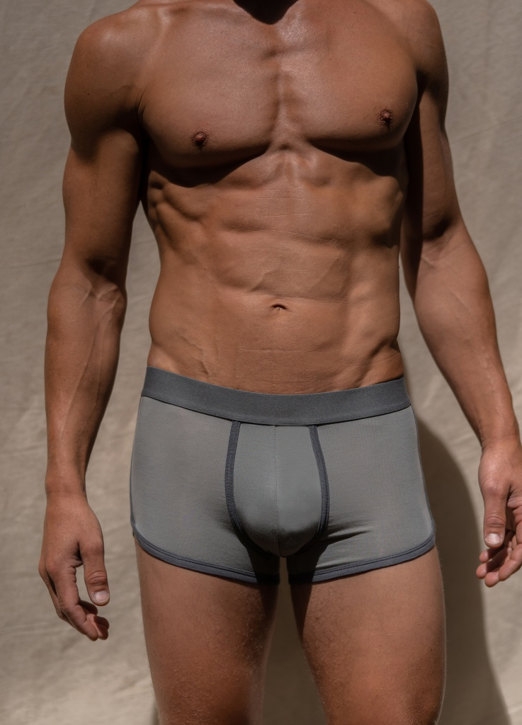 Boxer Briefs - Sky Grey