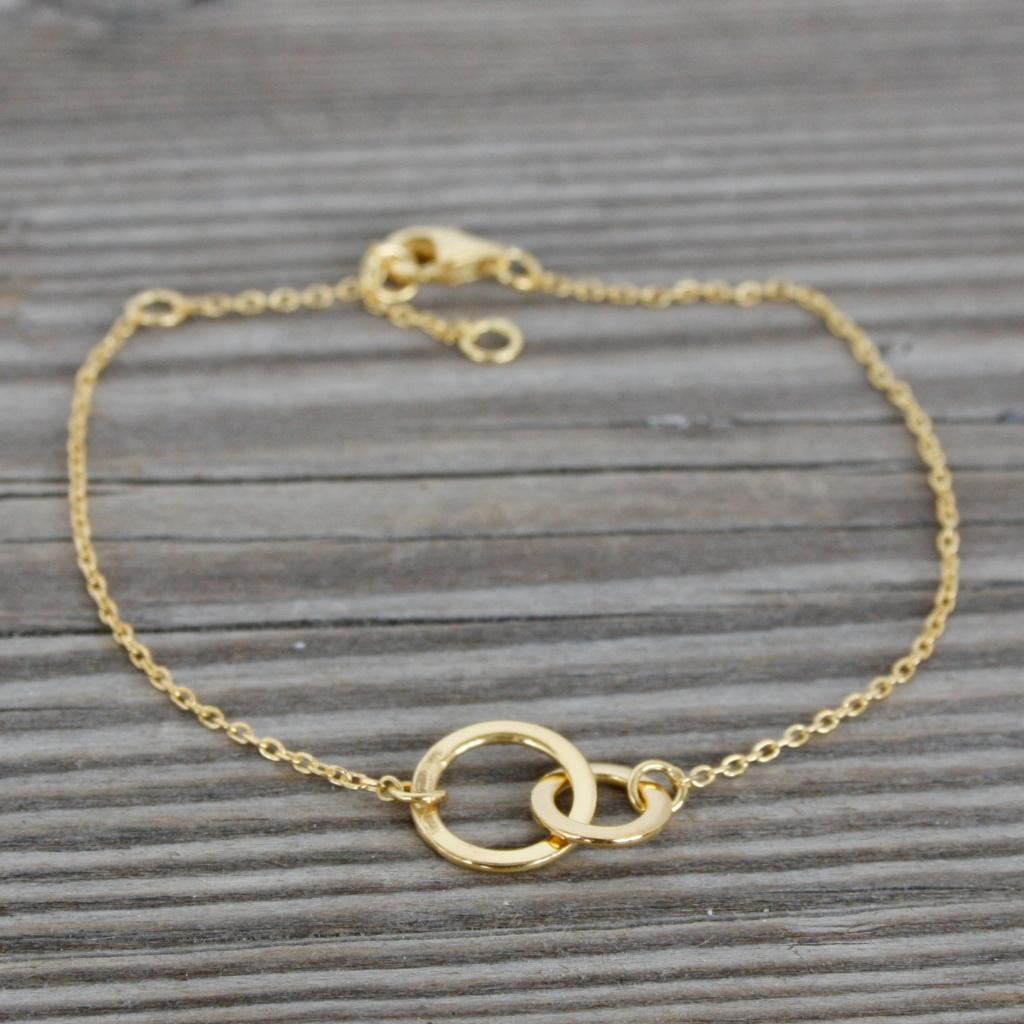 Connected Bracelet  - Gold