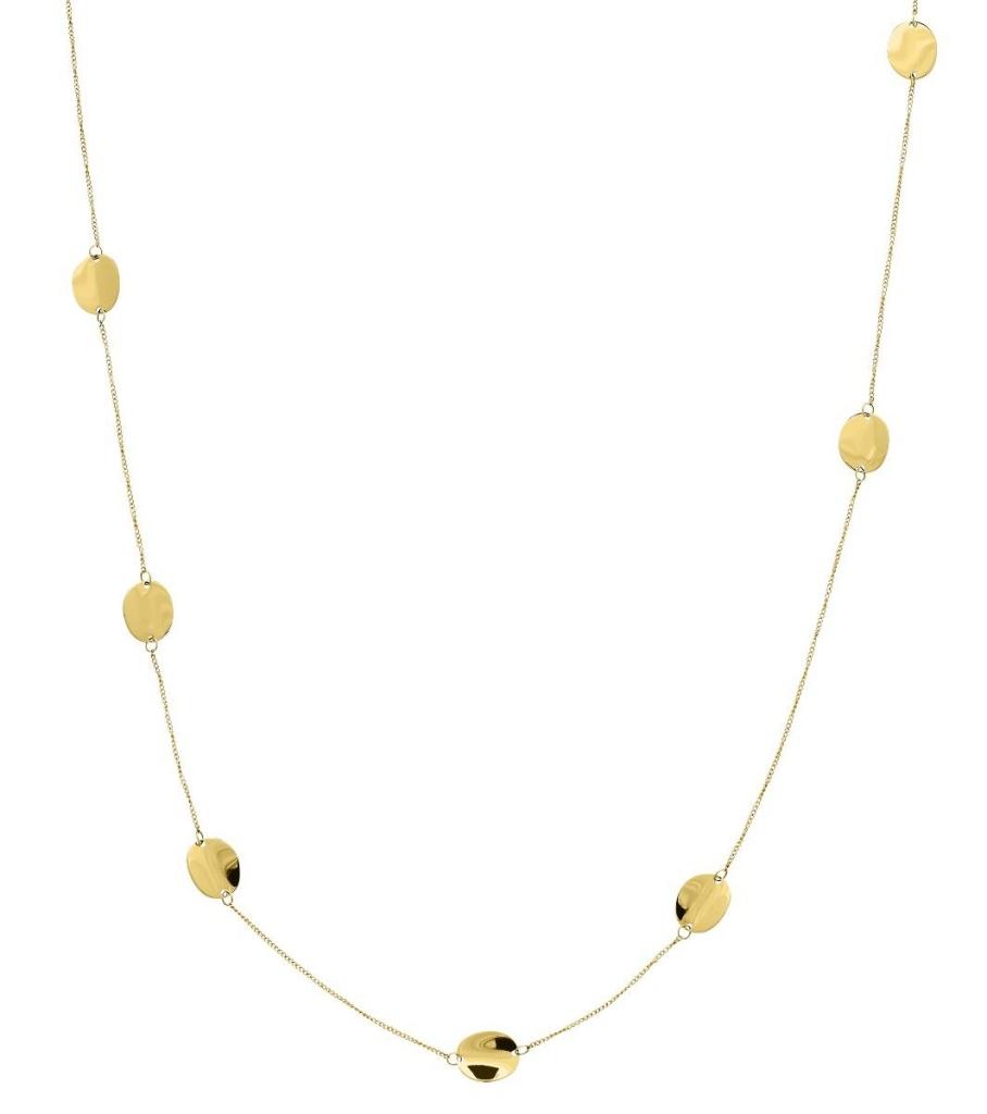 Pebble Mini Multi Necklace - Gold