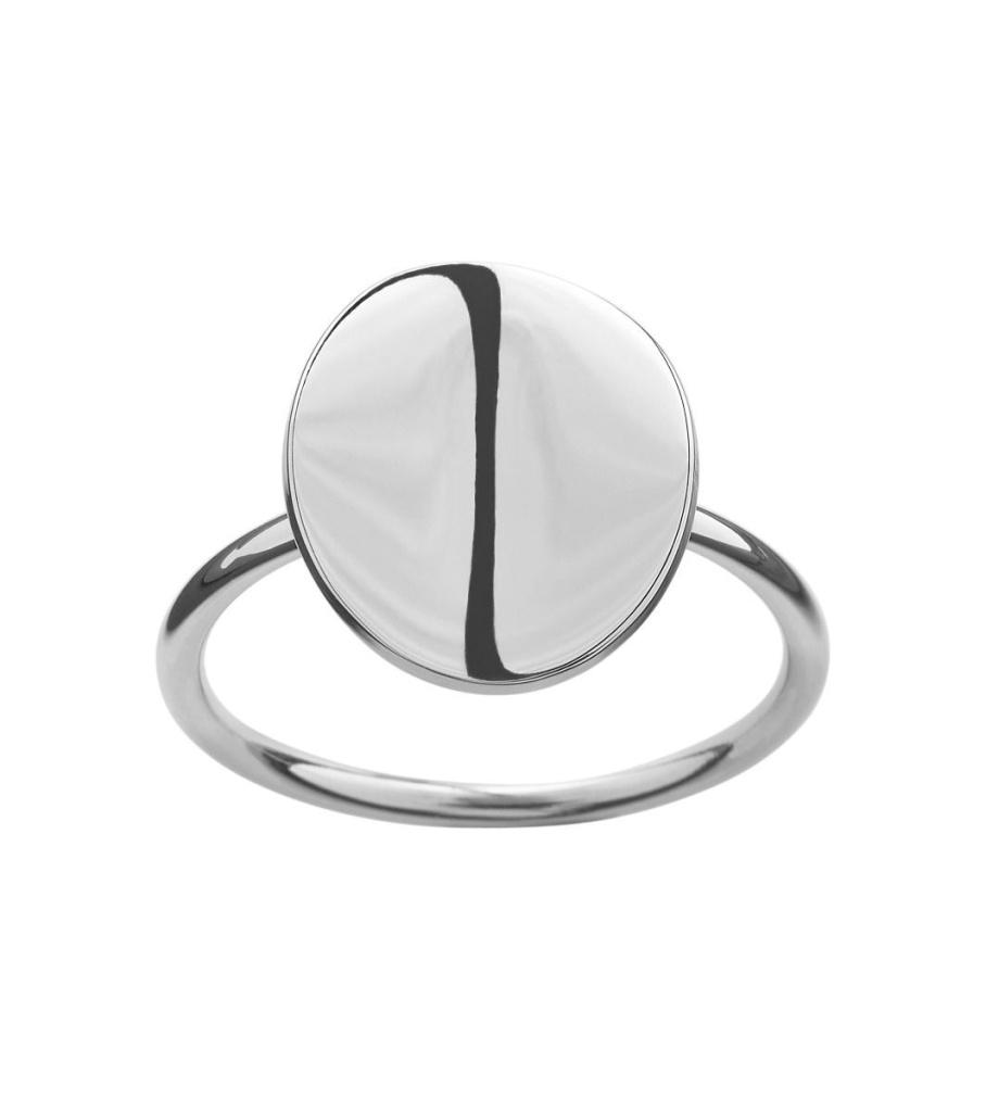 Pebble Mini Ring - Steel