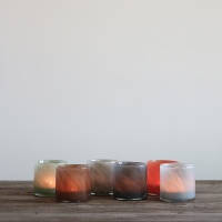Lyric Candleholder S - Blue