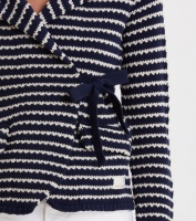 The Knit Jacket - Dark Blue