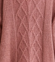Novelty Cardigan - Dusty Strawberry