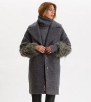 Rare & Free Coat - Asphalt