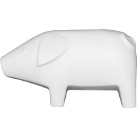 Swedish Pig Large - White