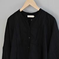 Fadia Double Cotton OS dress - Black