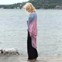 Sasha Kimono - Multifärgad