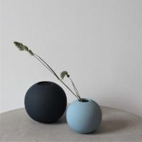 Ball Vase 8 cm - Dusty Blue