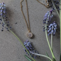 Thassos Necklace Gold