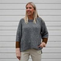 Jolene Deco Knit Oversized - DB