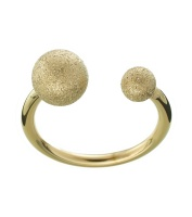 Atom Glittering Ring - Gold