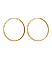 Circle Earrings - Gold
